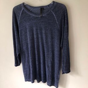 JOE'S blue linen tunic